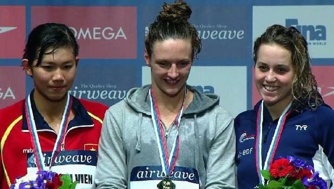 CHÍNH THỨC: Ánh Viên giành HCB 400m hỗn hợp cá nhân nữ