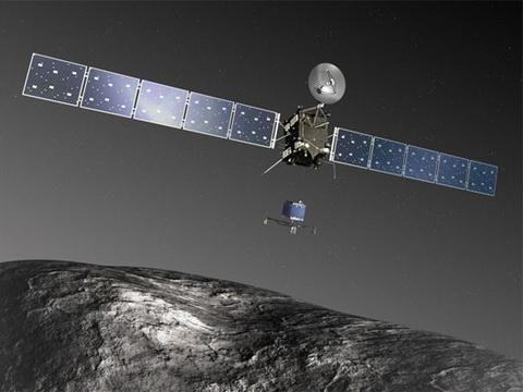 KỲ TÍCH: Tàu vũ trụ châu Âu đã 'cưỡi' trên sao chổi Chury đến gần Mặt trời nhất