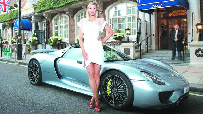 Sharapova vẫn là nữ VĐV kiếm nhiều tiền nhất
