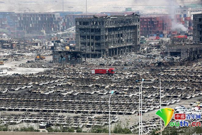 Vụ nổ ở Thiên Tân: Nhà kho chứa hóa chất phát nổ đã 'vi phạm các quy tắc an toàn'