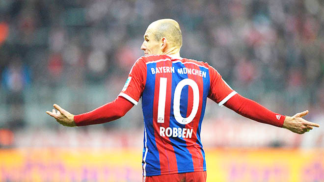 Pep Guardiola lại thử nghiệm chiến thuật: Nỗi lo cho Robben