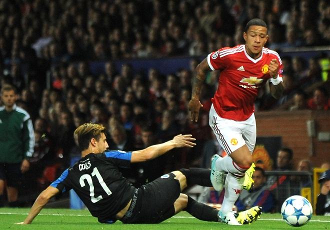 Depay thất vọng vì không lập hat-trick cho Man United