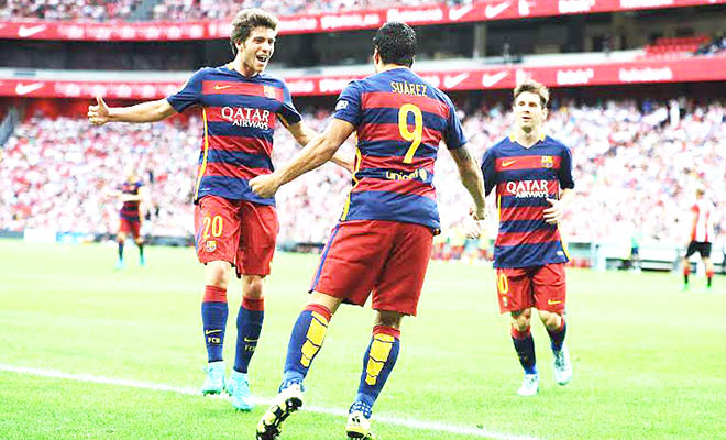 Sergi Roberto là 'Marco Reus' của Barca