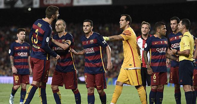 Barca quyết kháng án đến cùng vụ Pique bị treo giò