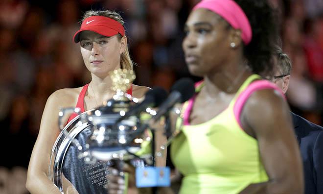 Sharapova rút khỏi, Serena càng... buồn