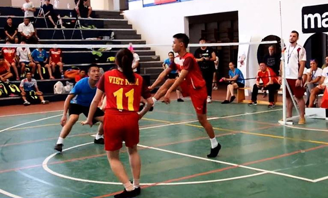 Khai mạc giải đá cầu thế giới lần thứ 8 tại Roma: Việt Nam giành huy chương Bạc