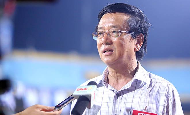 Tổng giám đốc VPF Phạm Ngọc Viễn: 'Vòng 24 V-League không có dấu hiệu tiêu cực'