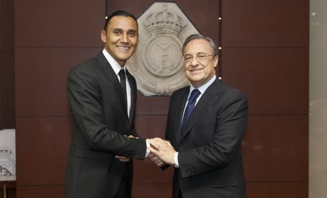 Chủ tịch Real Madrid tới tận sân tập xin lỗi Keylor Navas