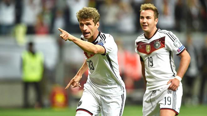 01h45 ngày 08/9, Scotland – Đức (lượt đi 1-2): Đặt một tay lên chiếc vé tới Pháp?
