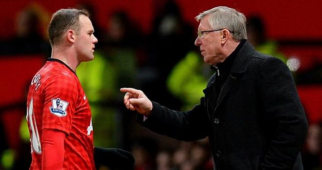 Wayne Rooney đã làm lành với Sir Alex Ferguson