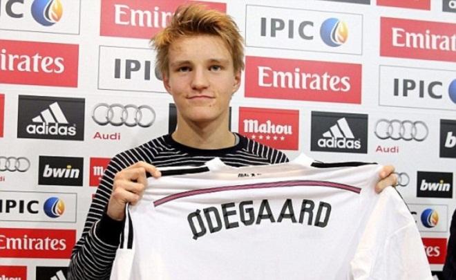 Odegaard từng từ chối Man United và Liverpool để đến Real Madrid