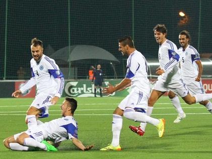 San Marino ăn mừng như vô địch thế giới vì ghi bàn trên sân khách sau 14 năm