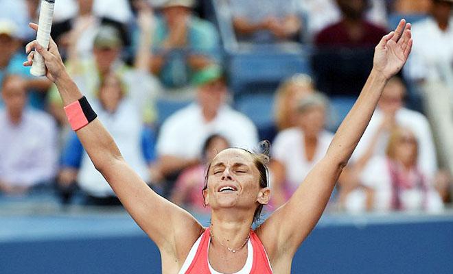 CỰC SỐC ở US Open: Serena Williams bị Roberta Vinci đánh bại ở Bán kết