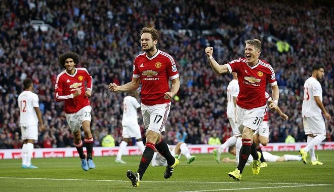 CHẤM ĐIỂM Man United - Liverpool: Blind hay nhất, Martial có màn ra mắt hoàn hảo