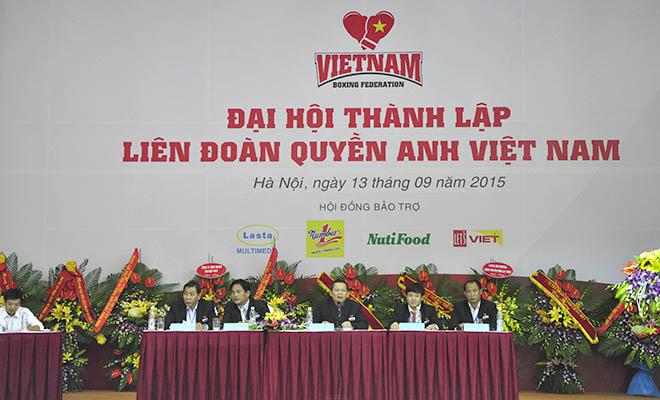 Thành lập Liên đoàn Boxing Việt Nam