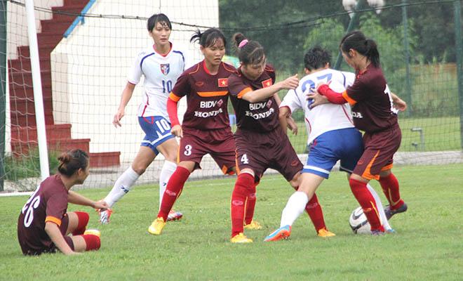 16h00 sân Mandalar Thiri, Đài Loan – Việt Nam: Tuyển nữ Việt Nam thận trọng trước Đài Loan