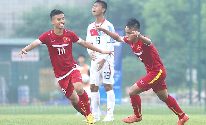 Vòng loại bảng J giải U16 châu Á 2016, U16 Việt Nam - U16 Myanmar 5-1: Chiến thắng thuyết phục