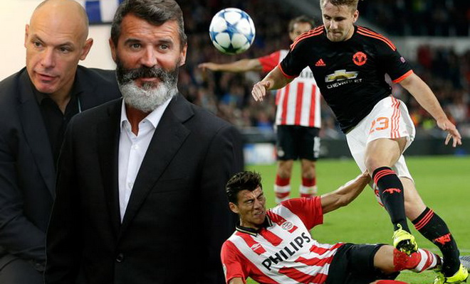 Roy Keane: 'Pha tắc bóng của Moreno với Shaw thật xuất sắc'