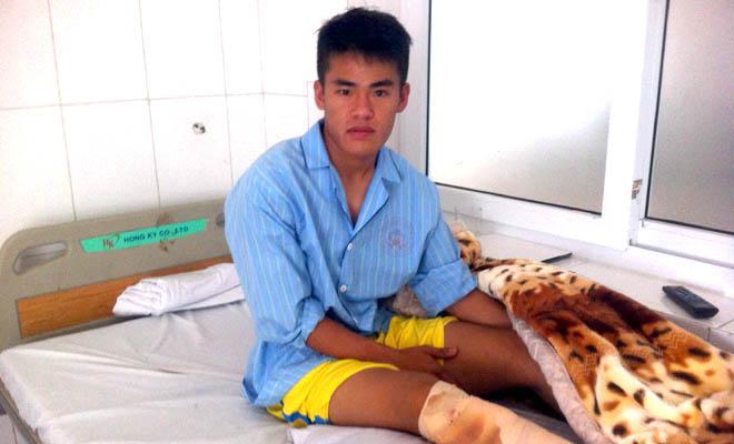 Những tai nạn kinh hoàng trên sân cỏ Việt Nam