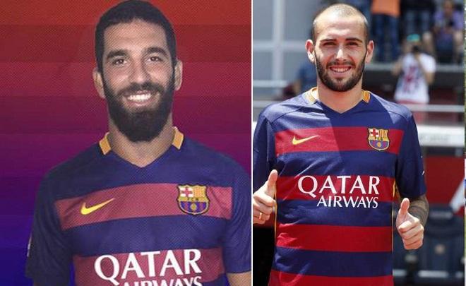 Barca có thể đăng kí Aleix Vidal hoặc Arda Turan