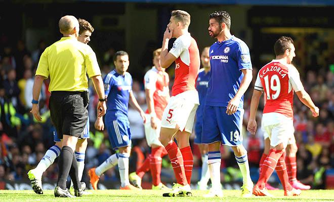 Bình luận trận Chelsea 2-0 Arsenal: Tất cả không phải tại Mike Dean