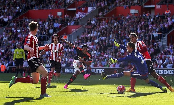 CHẤM ĐIỂM Southampton 2-3 Man United: De Gea không kém cạnh Martial!