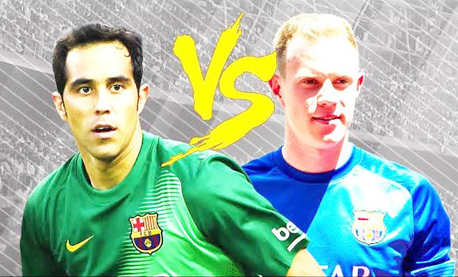 Vị trí thủ môn của Barca: Thay ngay Ter Stegen bằng Bravo!