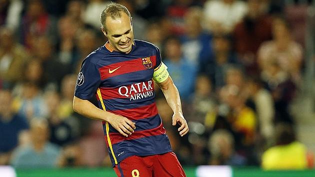 Barca trả giá cho chiến thắng: Iniesta sẽ nghỉ 4 tuần