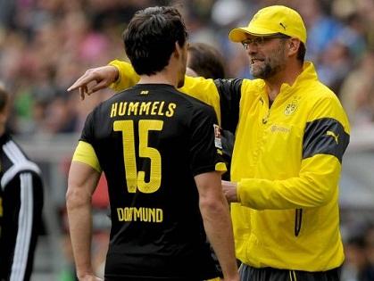 Mats Hummels: 'Klopp luôn sống, ăn, thở và nghĩ về bóng đá'