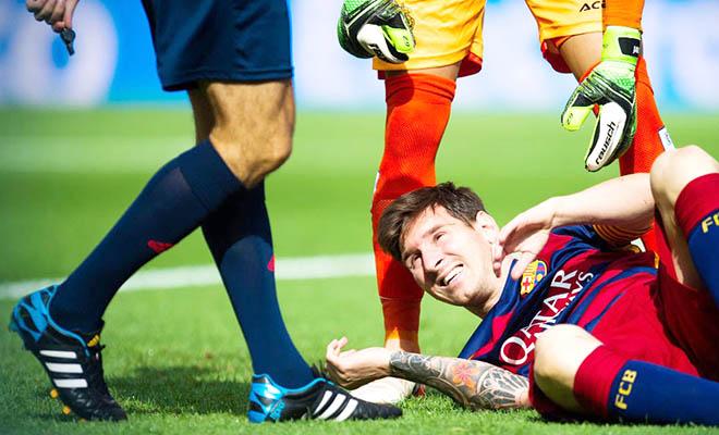 Argentina và Barca đều điêu đứng vì thiếu Messi