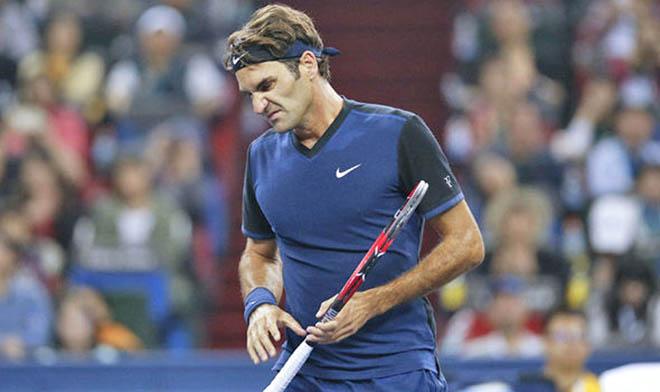 Thượng Hải Masters: Bị loại, Federer sẽ mất vị trí thứ hai thế giới