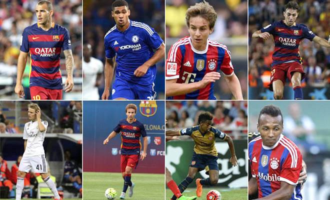 Enrique sử dụng cầu thủ trẻ nhiều hơn Guardiola