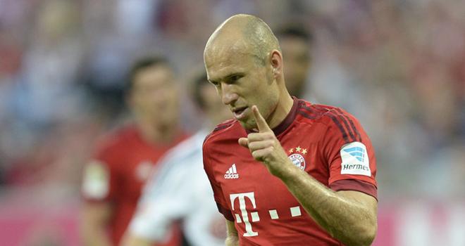 Robben vắng mặt trận gặp Arsenal, Lewandowski kịp hồi phục