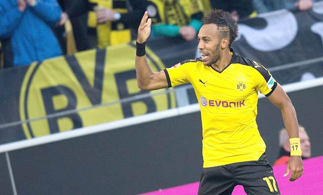 21h30 ngày 25/10, Dortmund - Augsburg: Aubameyang không thua gì Lewandowski!