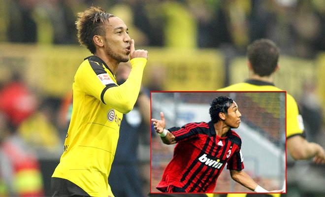 Hiện tượng Aubameyang: Từ hàng thải của Milan đến siêu sao của Dortmund