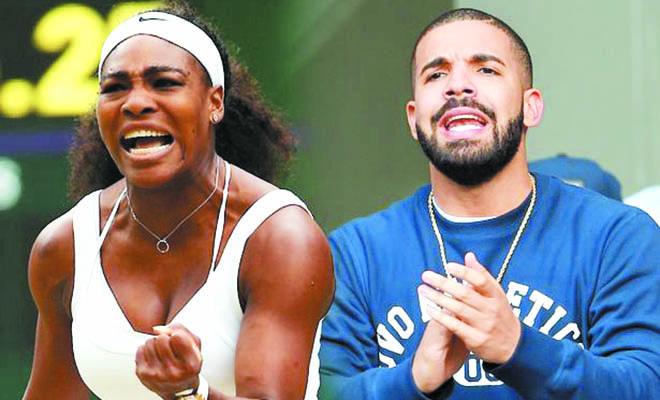 Serena Williams có thai với rapper Drake?