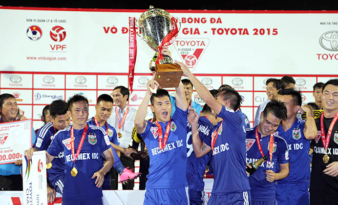 B.Bình Dương nhận 3 tỷ từ VPF cho 2 mùa giải vô địch