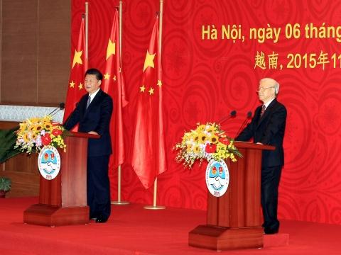 Tổng Bí thư Nguyễn Phú Trọng và Tổng Bí thư, Chủ tịch Trung Quốc Tập Cận Bình gặp gỡ đại biểu thanh niên hai nước