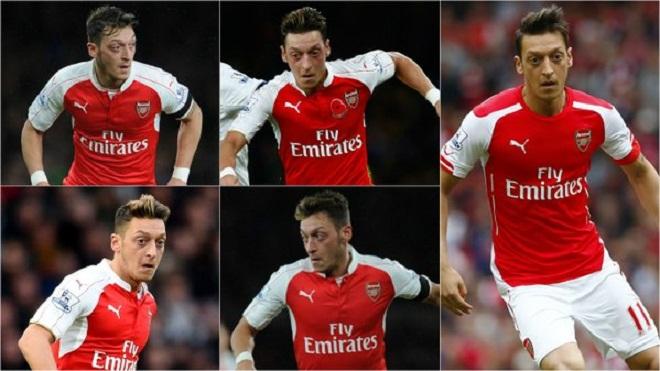 Bóng cứ rời chân của Mesut Oezil là Arsenal có cơ hội ghi bàn