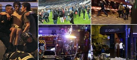 Khủng bố tại Paris: 158 người chết; 8 tên khủng bố bị tiêu diệt, đang truy lùng các tòng phạm