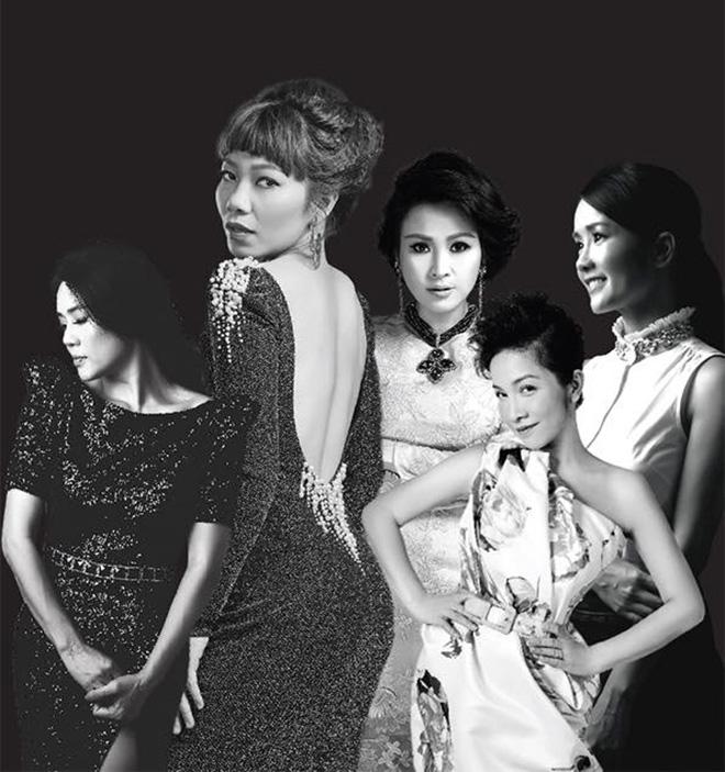 Khi '5 người đàn bà hát' chung sân khấu