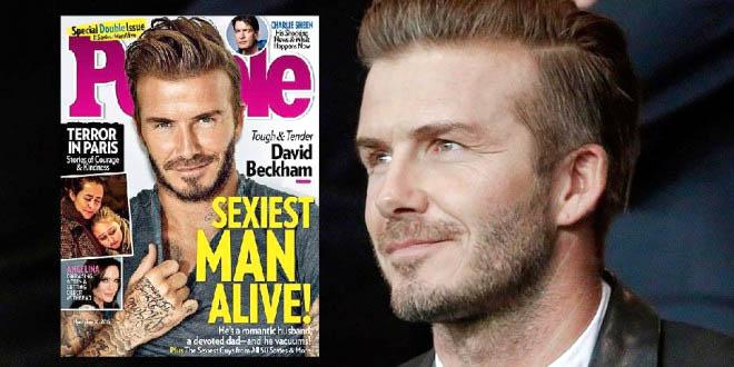 Giải 'Đàn ông sexy nhất hành tinh' của Beckham gây tranh cãi dữ dội