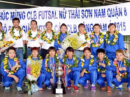 Đội Thái Sơn Nam Quận 8 vô địch giải CLB Đông Nam Á 2015: Chiến tích lịch sử