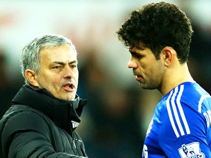 Chelsea: Mourinho 'dằn mặt' Diego Costa là cần thiết
