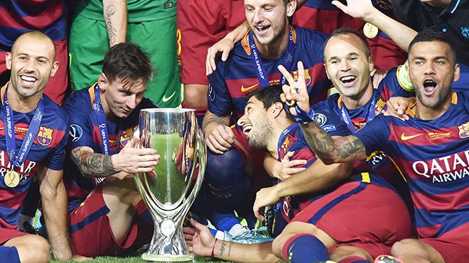 Messi - Suarez - Neymar chỉ là... một góc của Barcelona