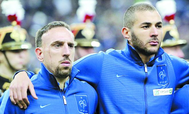 Ribery vẫn điêu đứng vì gái gọi