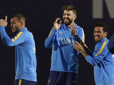 Pique cho rằng hành động chế giễu Real Madrid chỉ là... trò đùa