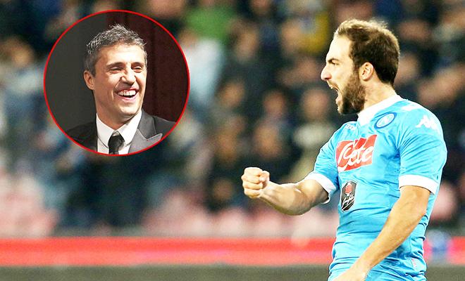 Hernan Crespo: 'Higuain thua xa Suarez và Lewandowski'
