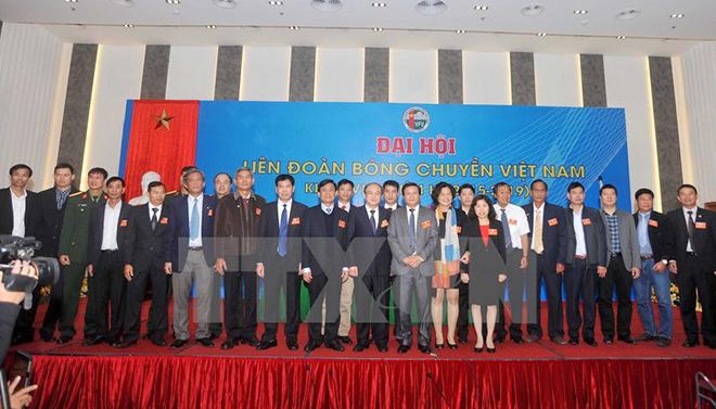 Liên đoàn Bóng chuyền Việt Nam có tân Chủ tịch và Tổng Thư ký