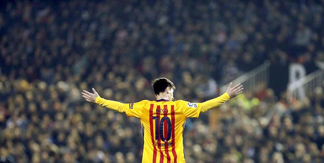 Barca hướng đến năm 2016: Vì Messi, chờ Messi